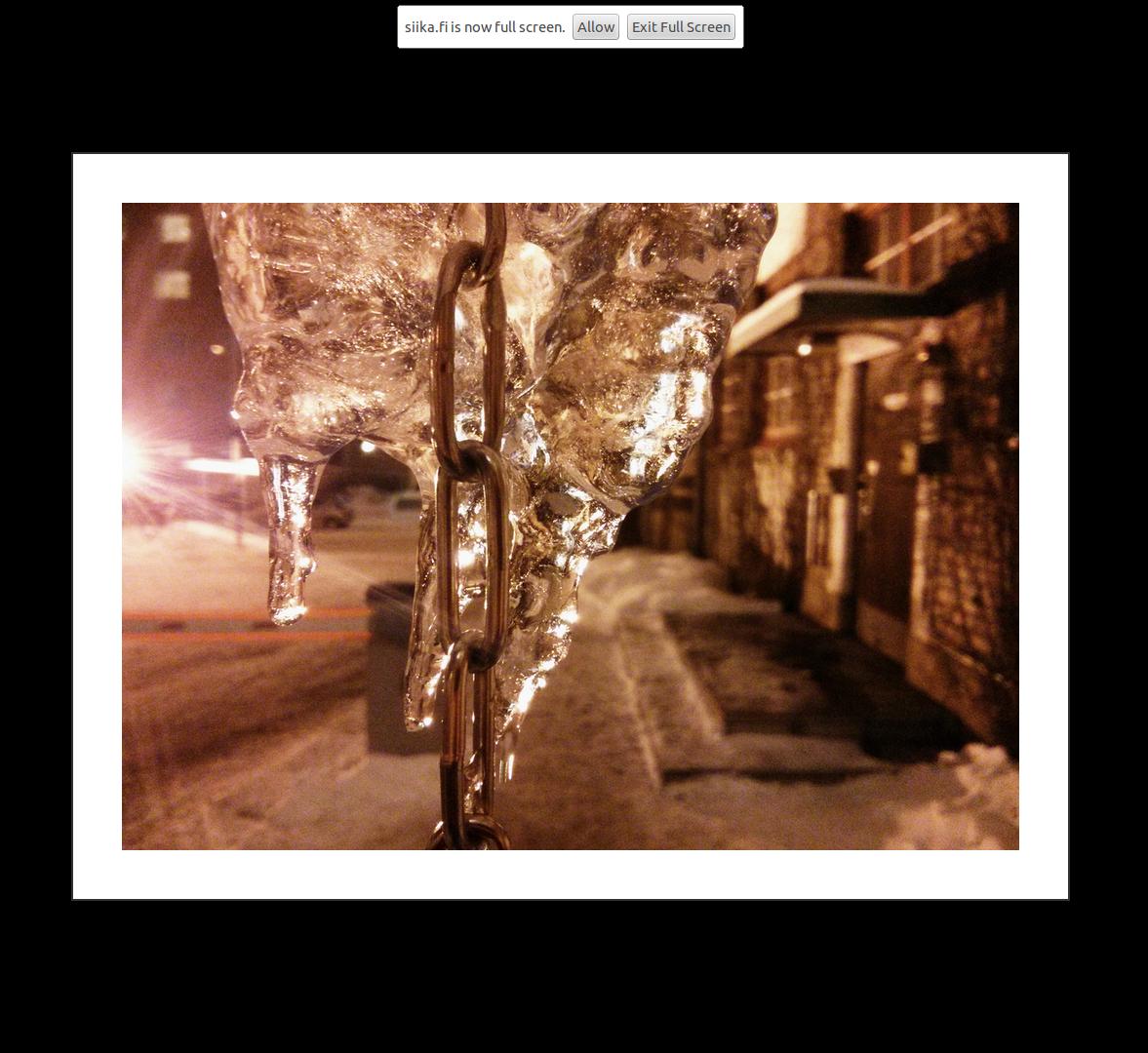 Demo application's image in fullscreen