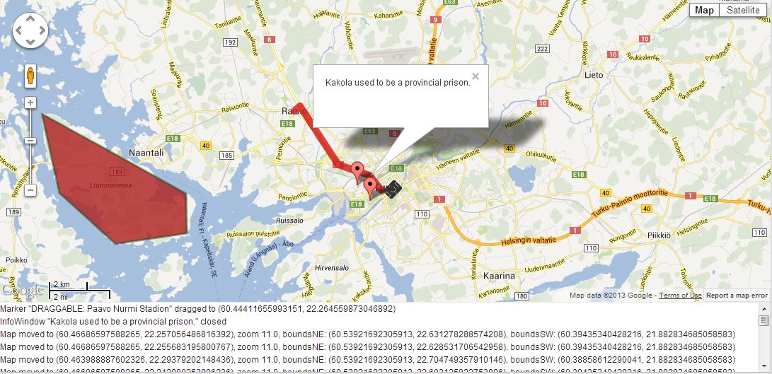 GoogleMaps Addon Vaadin Directory Vaadin