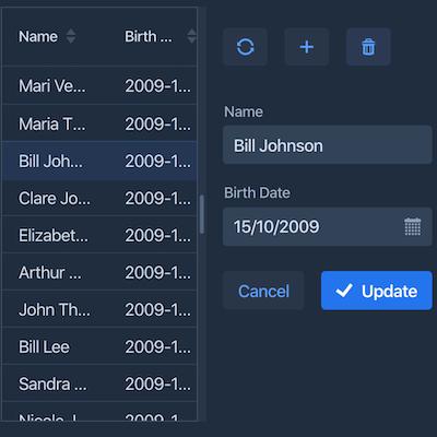 Crud UI Add-on icon