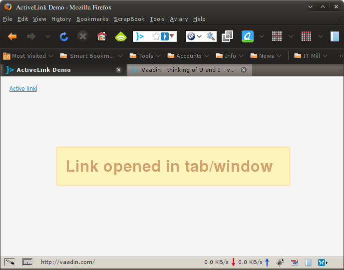 CTRL-click opened link in new tab, server still knows