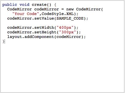 Java Syntax Highlight