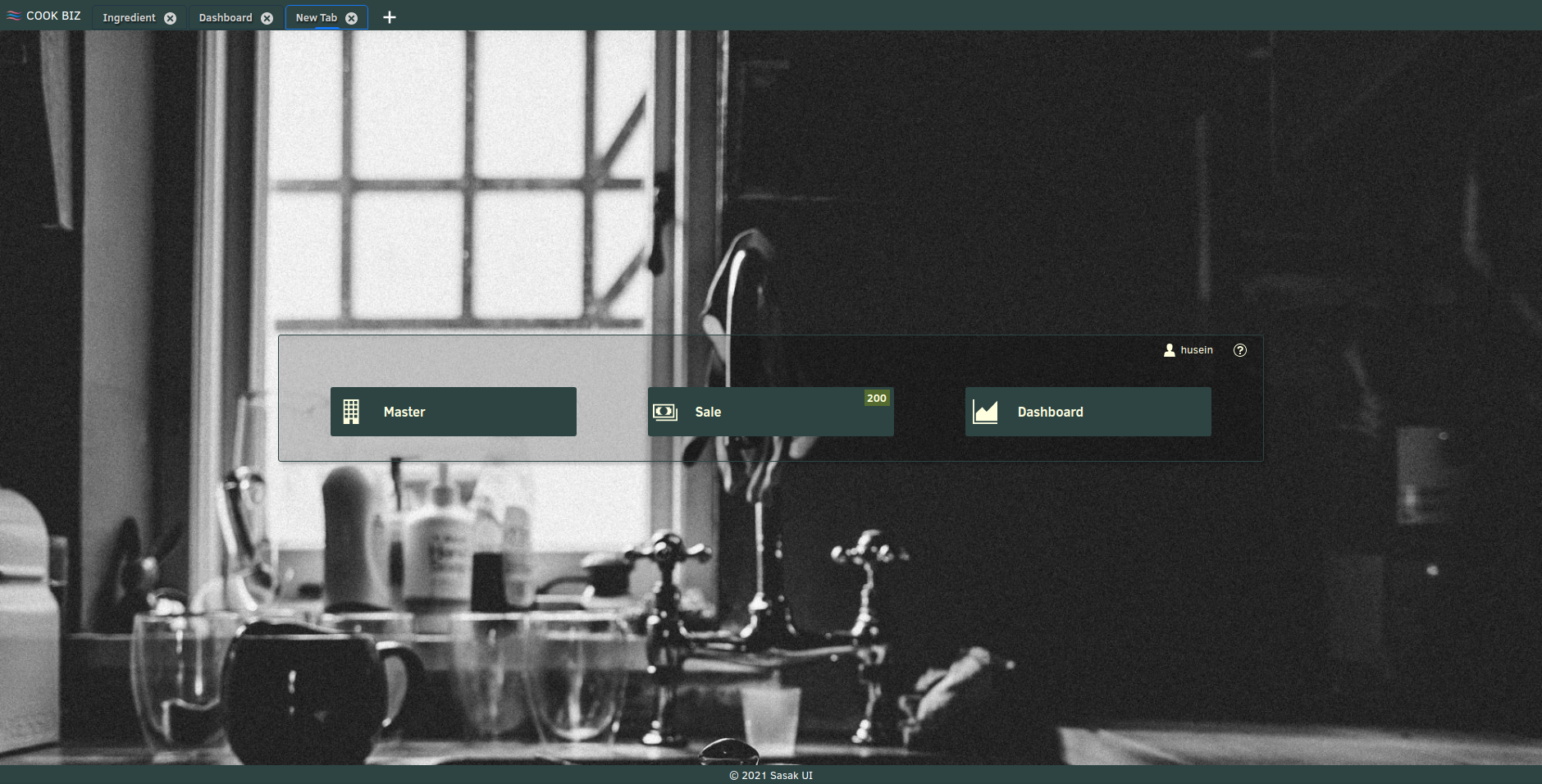 Multi Tab UI