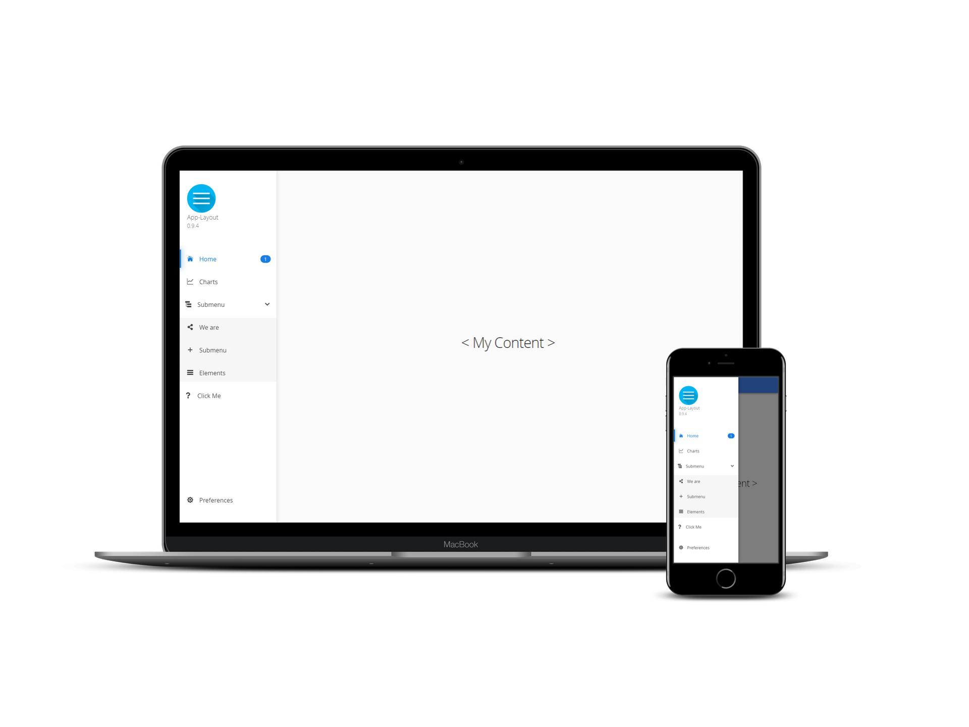 App Layout - Default Design