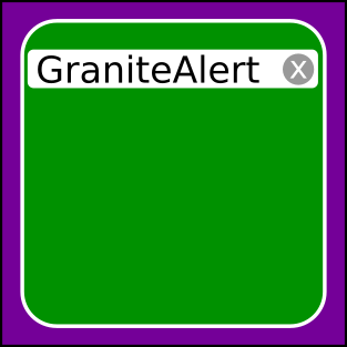 Granite Alert icon