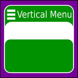 Vertical Menu Addon icon