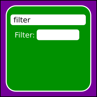 Filterable Layout Add-on icon
